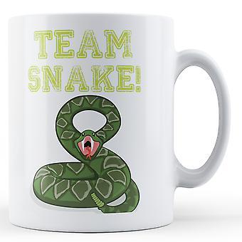 Team Snake - Printed Mug