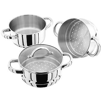 Judge Steamers, 16cm 3 Tier Steamer Set