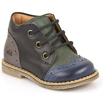 Froddo Boys G2130150 Lace Boots Blue Green