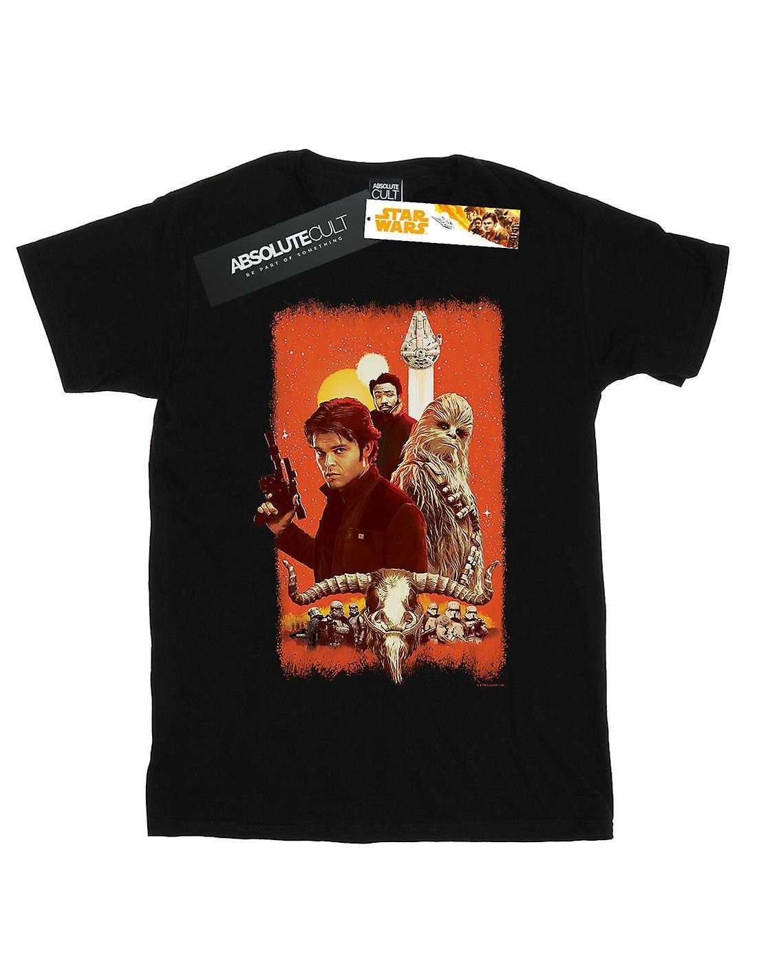 Star Wars Men's Solo Trio Paint T-Shirt