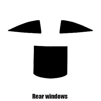 Pre cut window tint - Vauxhall Calibra - 1990 to 1997 - Rear windows