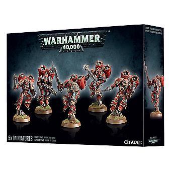 Games Workshop Warhammer 40.000 Chaos Space Marine Raptoren