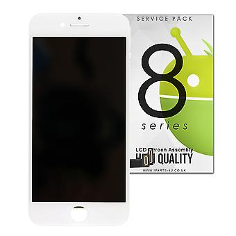 For iPhone 8 - White LCD Screen Assembly