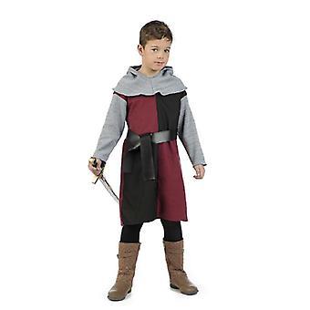 Krijgers Knight Squire zwaardvechter jongens kostuum kinderen kostuum