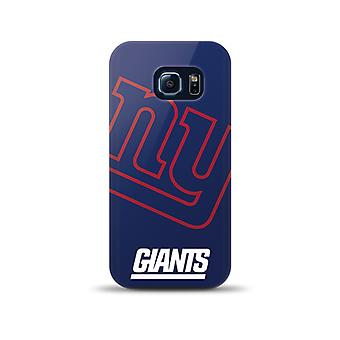 Mizco Sports NFL oversized SnapBack TPU Case voor Samsung Galaxy S6 Edge (New York Giants)