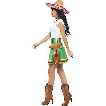 Tequila Shooter Girl Costume, UK Dress 12-14