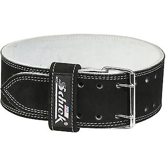 Schiek Sports Model 6010 Leather Competition Power Lifting Belt - Black