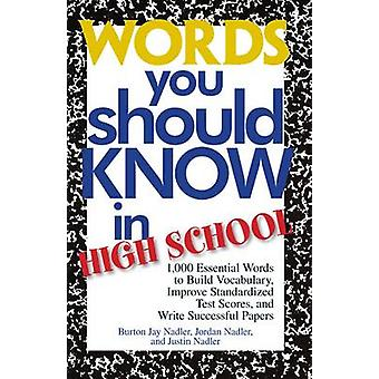 Parole che si deve sapere in High School - 1000 parole essenziali per costruire V