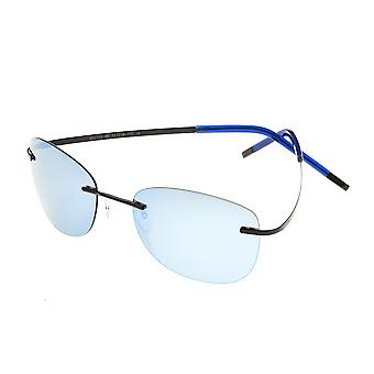 Simplify Matthias Polarized Sunglasses - Black/Blue