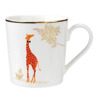 Sara Miller Piccadilly Mug Giraffe