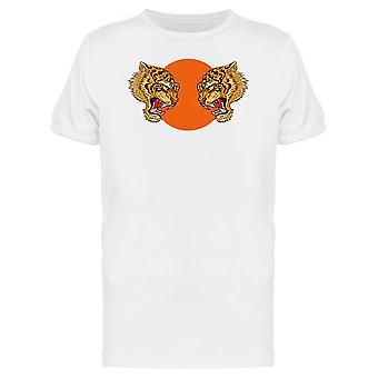 Double Tigers Japanese  Tee Men's -Image by Shutterstock