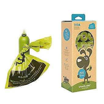 Earth Rated Dog Poo Plastic Bags Display Pack Of 21 Rolls