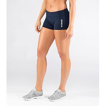 Virus ECO22 Womens Stay Cool Data Training Shorts - Navy/Silver