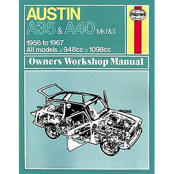 Austin A35/A40 Owner's Workshop Manual - 9780857336118 Book