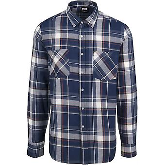 Urban Classics Men's Long sleeve Shirt Check Shirt