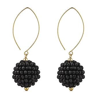 14kt Gold Filled Cluster Oval Open Earrings