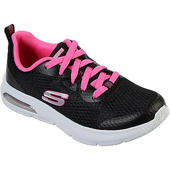 Skechers Girls Dyna Air Jump Brights Lace Up Sporty Trainers
