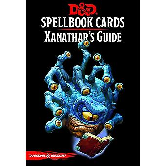 Dungeons and Dragons Spell Book Cards Xanathars Board Game