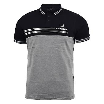 Mens polo t-shirt kangol manches courtes ouest