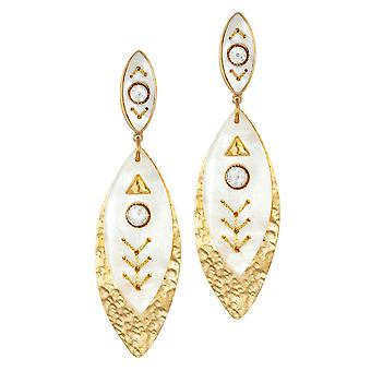 Eternal Collection Lucienne Mother Of Pearl And Austrian Crystal Gold Tone Drop Pierced Earrings Eternal Collection Lucienne Mother Of Pearl And Austrian Crystal Gold Tone Drop Pierced Earrings Eternal Collection Lucienne Mother Of Pearl And Austrian Crystal Gold Tone Drop Pierced Earrings Eternal Collection