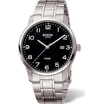 Boccia Titanium 3621-01 Miesten Watch