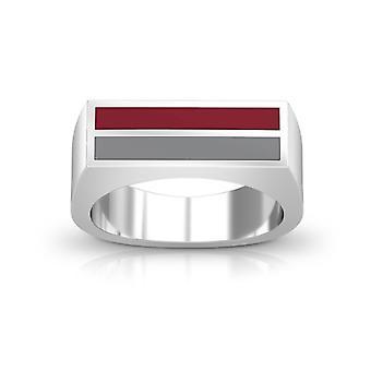 Colgate University Ring In Sterling Silver Design by BIXLER