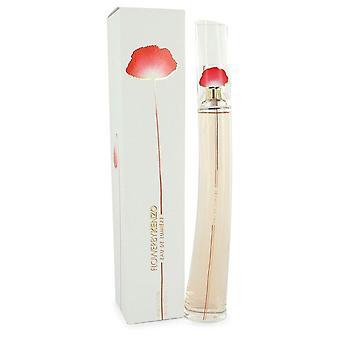 Kenzo flower eau de lumiere eau de toilette spray von kenzo 543552 100 ml