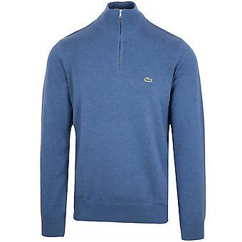 Sweat-shirt Lacoste Classic Blue Melange Half Zip