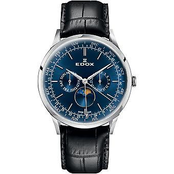 Edox 40101 3C BUIN Les Vauberts Men ' s Watch