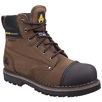 Amblers Safety Mens AS233 Scuff Boot Brown