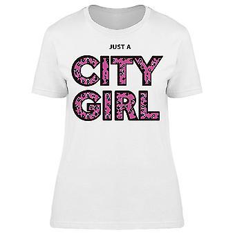 City Girl, Pink Animal Print Tee Women-apos;s -Image par Shutterstock