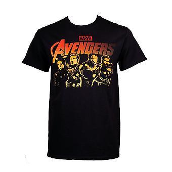 Avengers Endgame originele Heroes line-up mannen ' s T-shirt