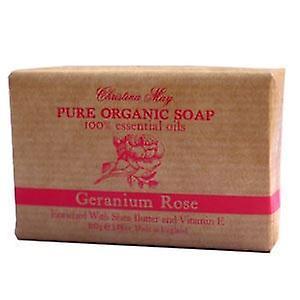 Geranium Rose Organic Soap 110g by Christina May