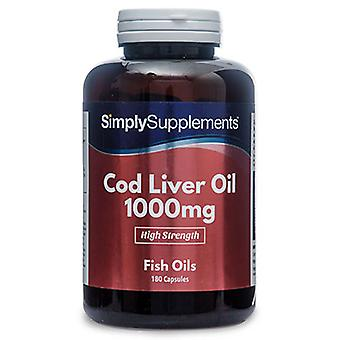 Cod-liver-oil-1000mg - 120 Capsules