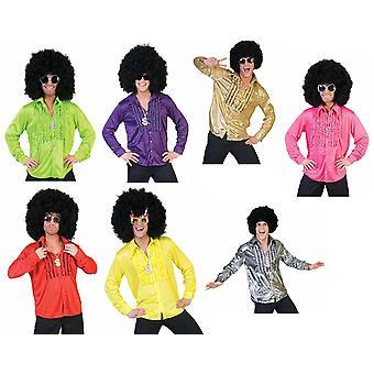 60s IES Ruffle shirt kostym mäns hit Star Discodancer mäns kostym