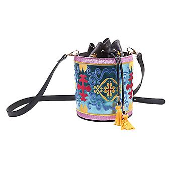 Aladdin Handbag Bucket Bag Magic Carpet Glitter new Official Disney Drawstring