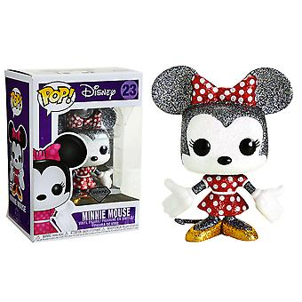 Mickey Mouse Minnie Mouse Diamond Glitter US Pop! Vinyl