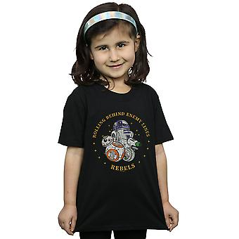 Star Wars The Rise Of Skywalker Rolling Behind Enemy Lines Girls T-Shirt