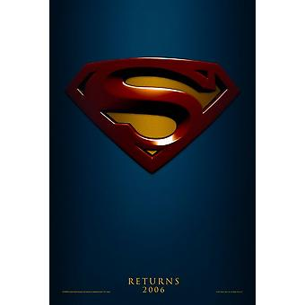 Superman Returns (Advance Reprint) Reprint Poster