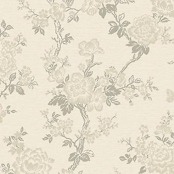 Paloma glitter flor árvore wallpaper Rasch