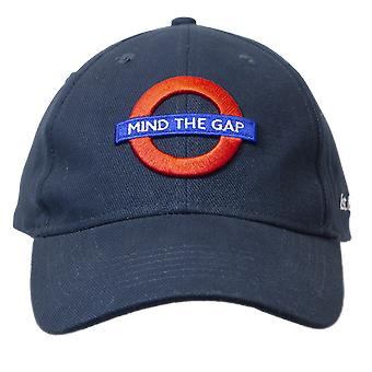 Licensed unisex underground mind the gap baseball cap navy