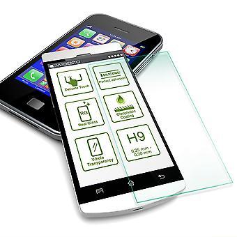 For Huawei P30 Pro farve effekt Cover pink etui + H9 hårdt glas