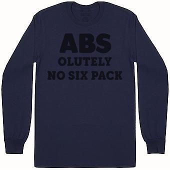 ABS olutely No Six Pack - Mens Long Sleeve T-Shirt