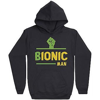 Bionic Man - Mens Hoodie