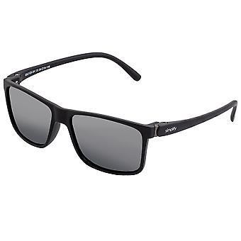Simplificar las gafas de sol polarizadas Ellis - Negro brillante/Negro