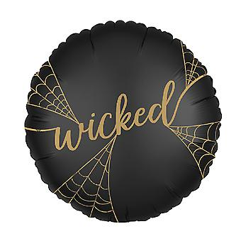 Anagram 18 Inch Wicked Circle Foil Balloon
