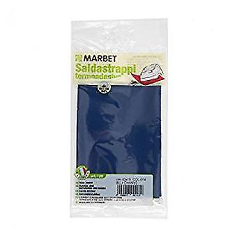 Marbet MB120.014 | Travaux de réparation tissu de coton | Fer-sur | 40 x 15cm | Mid Blue