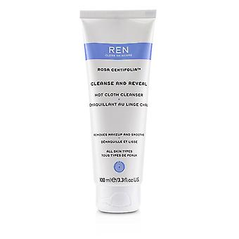 Ren Rosa Centifolia Cleanse & Reveal Hot Cloth Cleanser - 100ml/3.3oz