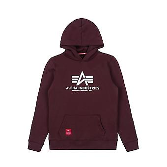 Alpha Industries Kinder Kapuzenpullover Basic