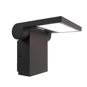 LED exterieur wand lamp Robi Flex Dark Grey 120.4 x 202.5 mm 3000K 10 W